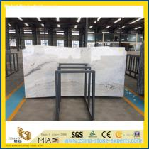 Castro White Marble Slabs for Bathroom Decoration