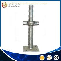 Manufacturer Supplying Good Quality screw jack with swivel base plate