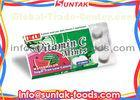 Colorful Vitamin C Candy In Hygienic Blister Pack , Fruit Flavor Calorie Free Candy
