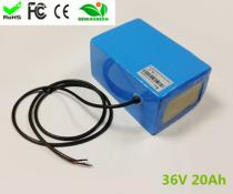 Hot selling 36v 20Ah Portable Battery Pack