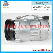 AC Air Conditioning compressor for Ford/Seat/VW 1067111 7340657
