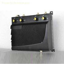 Adjustable Desktop Mobile Phone GPS Jammer with Remote Control