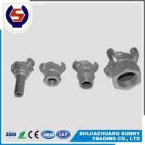 Electric Galvanized double bolt or four bolt hose clamp
