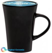 10oz Custom matte finish ceramic tazo tea mug