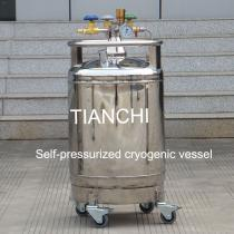 TianChi YDZ-200 self-pressured cryogenic vessel price in GT