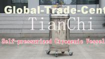 TianChi YDZ-200 self-pressured cryogenic vessel Supplier in KH