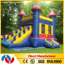 inflatable cartoon bouncy castle jumping house