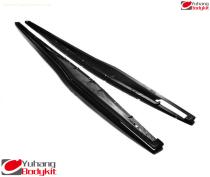 2004-2012 Gallardo LP550 LP560 LP570 Superleggera Style Full Carbon Fiber Side Skirt Extension
