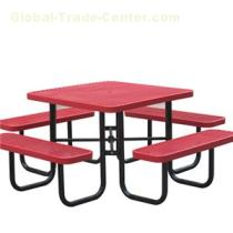 Outdoor Park Steel Picnic Tables
