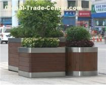 Outdoor Park Wood Planter