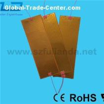High Temperature AC And DC Voltage Thin Kapton Film Foil Heaters