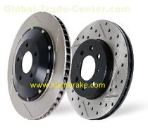 OEM quality brake disc complied with ISO/TS 16949
