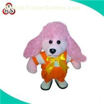 Best Quality Various Color Stuffed Poddle Dog Toy Lovely Soft Plush Toy Poodle Puppies For Sale