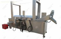 Continuous Automatic Food Deep Fryer Machine