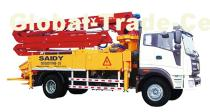 small-middle size Boom concrete boom concrete pump suppliers/manufactures/dealers