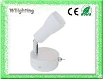 Aluminum 3w LED Wall Lamp Reading Lamp with adjustable head
