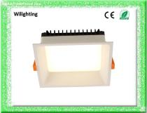 Aluminium Square  SMD LED Recessed Downlight Ceiling Lamp  LED Spot Light 9W 15W 20W