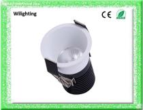 Aluminium 6w CREE COB LED Downlights White Black Ceiling Lamps Spot Light LED Lighting Commercial Project Lighting Home Lighting