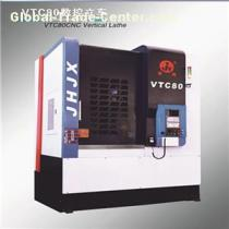 CNC High Precision Small And Medium Automation Vertical Linear Slide Vertical Lathe For Automobile Hub And Brake Drum