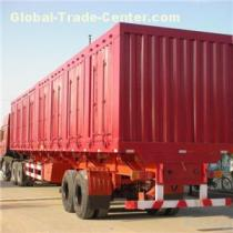 60~80t, Side Door, 3 Axle,Tri Axle Heavy Duty Dry Van Trucking, Freight, Flatbed, Truck , Cargo, Box Semi Trailer Or Carrier