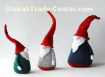 wool felt Christmas decorations