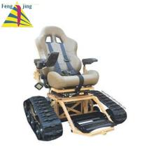 Motorized Stair climber Truck rubber track