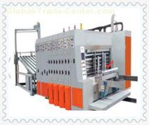 Hebei full automatic corrugated cardboard folder and gluer packing machine