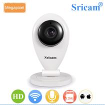 Sricam SP009A HD 720P Two Way Audio Indoor Infrared Nigt Vision P2P IP Camera with SD Card Storage