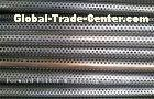 Mild Steel Welded Perforated Metal Tube For Oil Well , High Speed Hole Punching