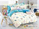 12868 pigment cotton fabric queen size kids duvet cover,bedsheet, pillowcase bedding set
