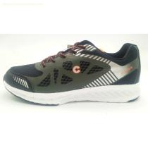 Dark green Rubber printed upper Men Sport shoes with phylon outsole