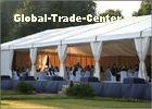 Commercial Outdoor Event Tents With Curtain , Outside Party Tents For 500 People