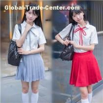 OEM Girls Model Of High School Uniforms Made In China Factory