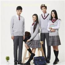 Low Price Beautiful Korean Styel Middle Scholl Uniforms For Sale