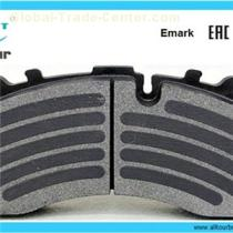 High Quality Asbestos-free Disc Brake Pads for Trucks of All Types of Brands