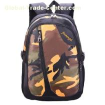 Strong Camo School Backpack Bags For Boys