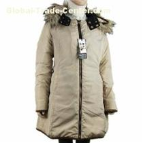 Stock Womens Parka Coats With Fur Hood