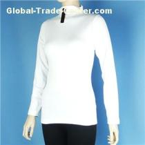 Thermal Roll Neck Fleece Top Sweater Pullover Shirts Wholesale Stock in China