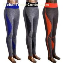 Yoga Pants Leggings Trousers Clothes Wear for Women and Girls Fresh Production with Stock Fabrics in China
