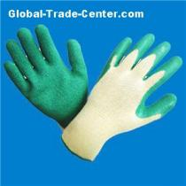 Latex Dipped Work Safety Gloves Stocklot in China