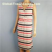 Long Casual Womens Dresses Stripped Skirts for Summer Made in Bangladesh Cancel Order