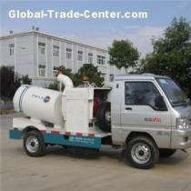 New Mini Foton Chassis Euro 5 Vacuum Leaves Collect Truck
