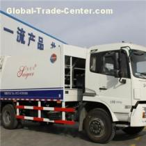 New Dongfeng Diesel CE Certificate Airconditional 140kw Compression Garbage Truck