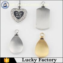 Multifarious Stainless Steel Urn Pendant Jewelry for Ashes Wholesale