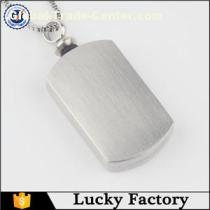 Popular Stainless Steel Urn Jewelry Memorial Pendant Necklace Especial for Men