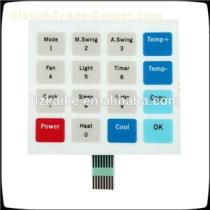 Various Colors Capacitor Membrane Switching Capacitive Touch Screen Interface Panels