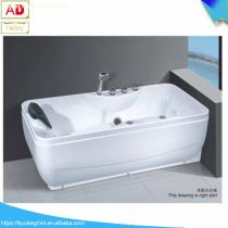 High Quality Foshan Supplier Acrylic Massage Alcove Whirlpool Tub