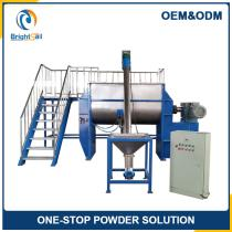 Liquid ribbon pigment mixer/industrial powder mixer/stainless steel ribbon mixer
