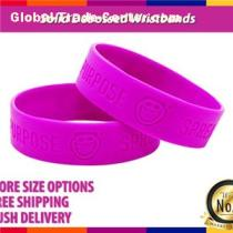 3/4inch Traditional Solid Debossed Wristband In Any Pantone Color For Promotional Campaigns