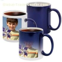 China Exporter Heat Sensitive Color Changing Mug For Sublimation Printing 11oz